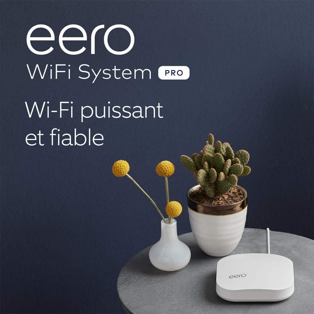 Routeur/répéteur Wi-Fi Maillé (mesh) Amazon Eero Pro - Les Bons Plans De Elise